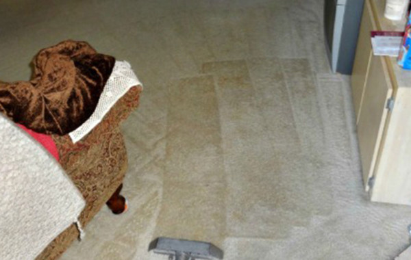 Removing Ground-In Spills From Carpet