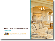 Carpet and Interior Textiles Care Guide