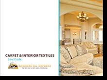 Carpet and Interior Textiles Care Guide